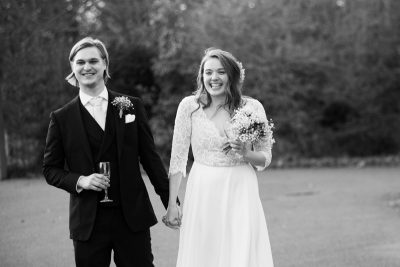 Bride and Groom at Headstone Manor